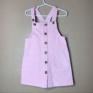 Wonder Nation toddler girl pink corduroy dress